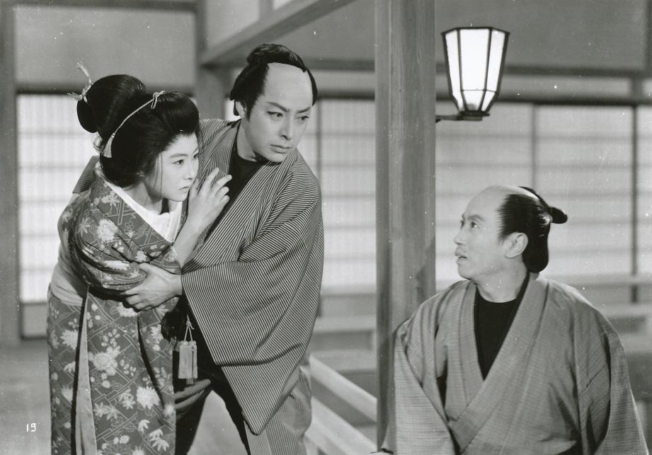 伝七捕物帖 美女蝙蝠(35mm)