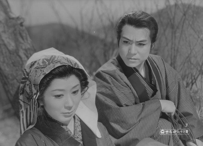 雲右衛門とその妻(35mm)